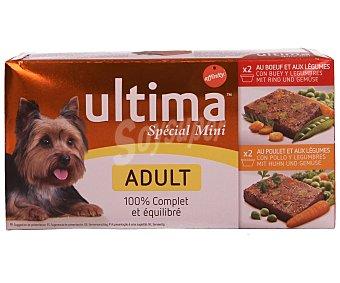 Ultima Affinity Comida de perro adulto surtido de carne con verduras y legumbres Pack 4  150 g