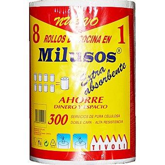 Tivoli Rollo de cocina maxirollo mil usos extra absorbente doble capa 1 rollo