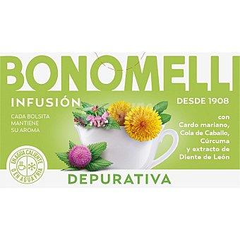 Bonomelli infusión depurativa 23 bolsitas estuche 34,5 g