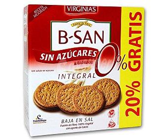 Virginias Galletas b-san integrales sin azúcar Caja 480 g