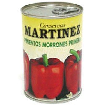 Fco Martinez Pimiento morrón entero Lata 250 g
