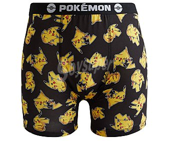 Pokemon Calzoncillo bóxer para hombre pokemon, talla S
