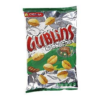 Gublins Grefusa Snack de cuencos de maíz con sabor a barbacoa  Bolsa de 120 g