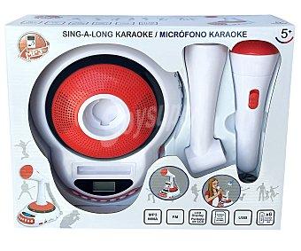 MP3 Radio Karaoke con display Lcd y conexión USB 1 unidad