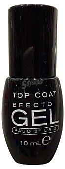 Deliplus Laca de uñas brillo top coat efecto gel (paso 2º de 2) 1 unidad