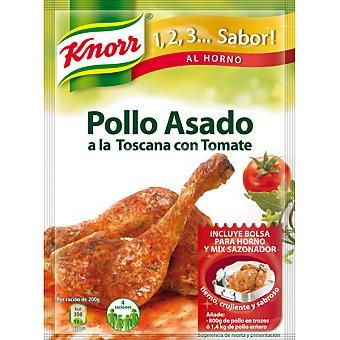 Knorr Sazonador de Pollo Asado a la Toscana con Tomate Sobre 33 g