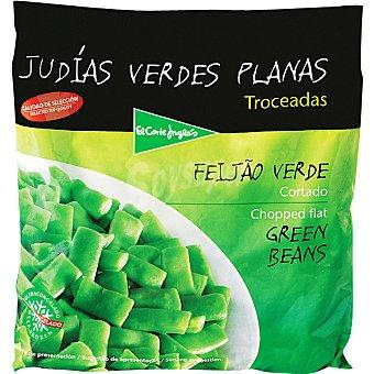 El Corte Inglés Judías verdes planas troceadas Bolsa 1 kg