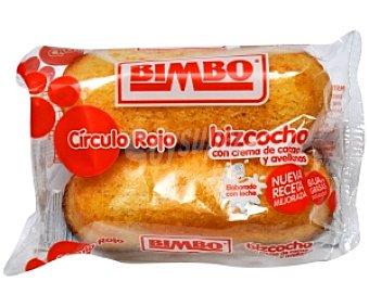 Bimbo Pastelito Círculo Rojo 2u 75g