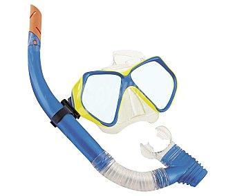 EURASPA Set de buceo para adultos compuesto por tubo y gafas 1 unidad