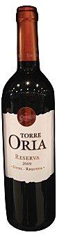 TORRE ORIA Vino tinto Utiel Requena reserva Botella de 75 cl