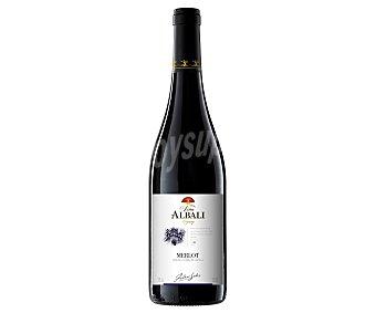 Viña Albali Vino tinto merlot tierra castilla Botella 75 cl