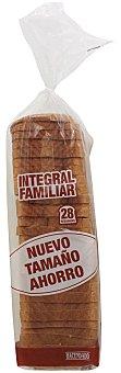 Hacendado Pan molde integral especial sandwich Paquete 820 g (28 rebanadas)