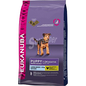 EUKANUBA PUPPY Large Breed Alimento completo y equilibrado para cachorros de razas grandes y gigantes bolsa 3 kg Bolsa 3 kg