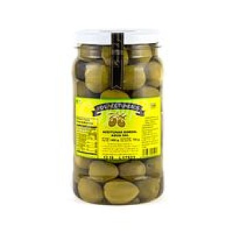 Los Aceituneros Aceitunas agua sal Frasco 800 g