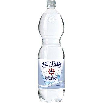 Gerolsteiner Agua mineral natural con gas Botella 1,5 l