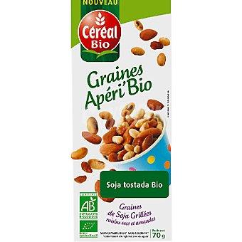 CEREAL BIO snack de soja tostada ecológica envase 70 g