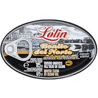 Lolín Bonito en aceite de oliva Lata 120 g