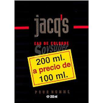Jacq's Colonia para hombre Frasco 200 ml
