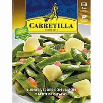 Carretilla Judías verdes Bandeja 240 g