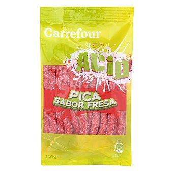 Carrefour Regaliz pica pica sabor a fresa 150 g