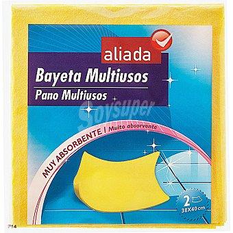 Aliada Bayeta multiusos superabsorbente Envase 2 unidades