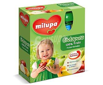 Milupa Pouch de frutas variadas Pack 4x90 g