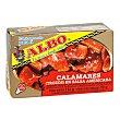 Trozos de calamares en salsa americana Lata 72 gr Albo