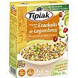 Mezcla de couscous. lentejas y guisantes preparado para ensalada de legumbres Caja 200 g Tipiak