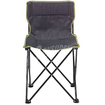 Runfit Silla de camping en color gris y verde
