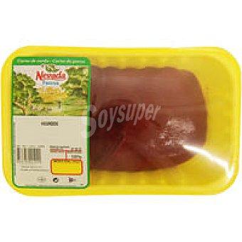 Faccsa Hígado de cerdo Peso aproximado