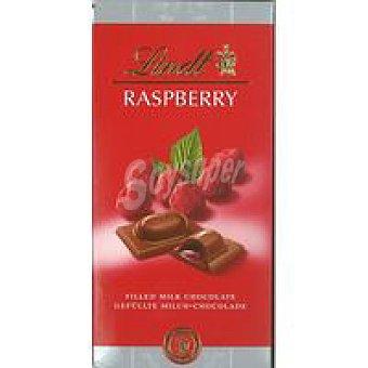 Lindt Chocolate relleno de frambuesa Tableta 100 g
