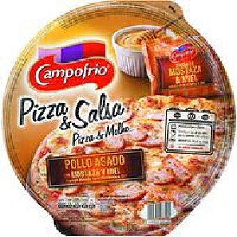 Campofrío Pizza de pollo-mostaza-miel 1 unid