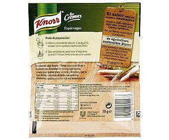 Knorr Crema de espárragos Las Cremas sobre 70 g