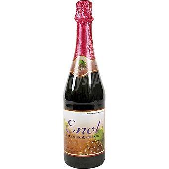 ENOL Granovita Zumo gasificado de uva negra Botella 75 cl