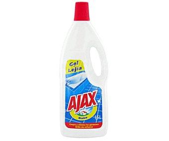 Ajax Limpiahogar gel+limpiador para Baño 1,5L