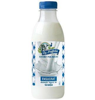 LA FAGEDA Yogur líquido natural azucarado botella 650 ml