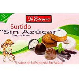 La Estepeña Surtido sin azúcar con chocolate Caja 285 g