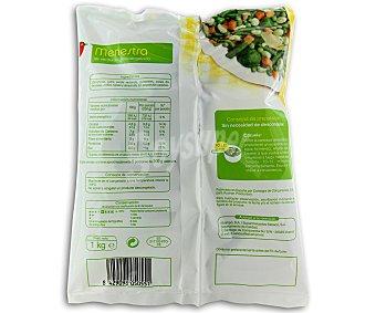 Auchan Menestra de verduras 1 kilogramo
