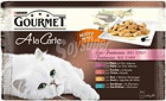 Gourmet Purina ALIM.GATO LA CARTE CHEF 4 UNI