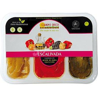 Campo Rico Escalivada con aceite de oliva virgen extra Tarrina 500 g