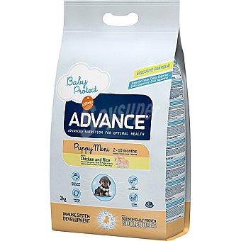 Advance Affinity Puppy mini pienso de alta gama para perros cachorros -12 meses raza pequeña y lactantes bolsa 3 kg rico en pollo y arroz Bolsa 3 kg