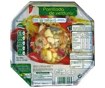 Auchan Bol parrillada de verduras 250 Gramos