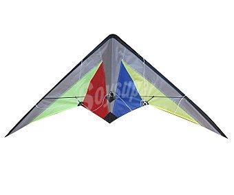 EURASPA Cometa de poliester con doble sujección y de 120x60 centímetros 1 unidad