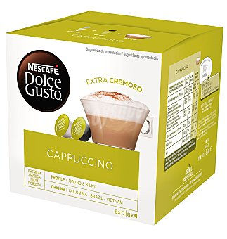 Capsulas dolce gust cappuccino 16 unidades
