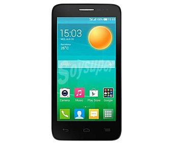 "DESPUBLICADAS POR ADMIN Smartphone libre alcatel OT D5 pop, procesador: Quad Core 1.3GHz, Ram: 512Mb, almacenamiento: 4Gb ampliable mediante microsd, pantalla: 4.5"" 480 x 854px, cámara: 5Mp, Talla/color"