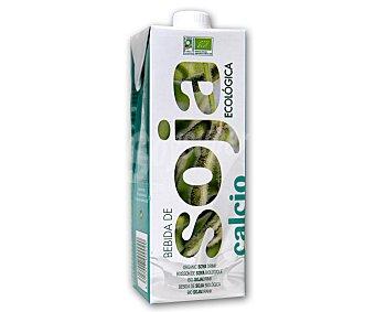 Soria Natural Bebida de Soja Ecológica con Calcio Brick de 1 l