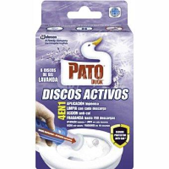 Pato Limpiador wc disco lavanda 1u - 36ml