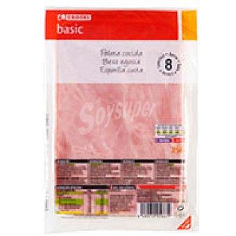 Eroski Basic Paleta cocida I Sobre 250 g