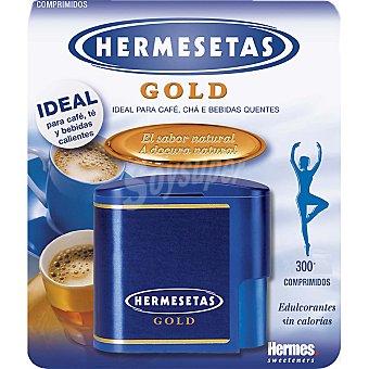 HERMESETAS GOLD Edulcorante aspartamo Dosificador 300 comprimidos
