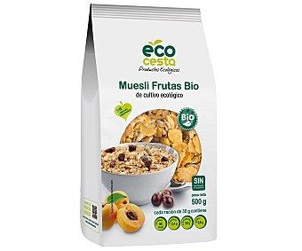 Ecocesta Cereales muesli y frutas de cultivo ecológico 500 gramos